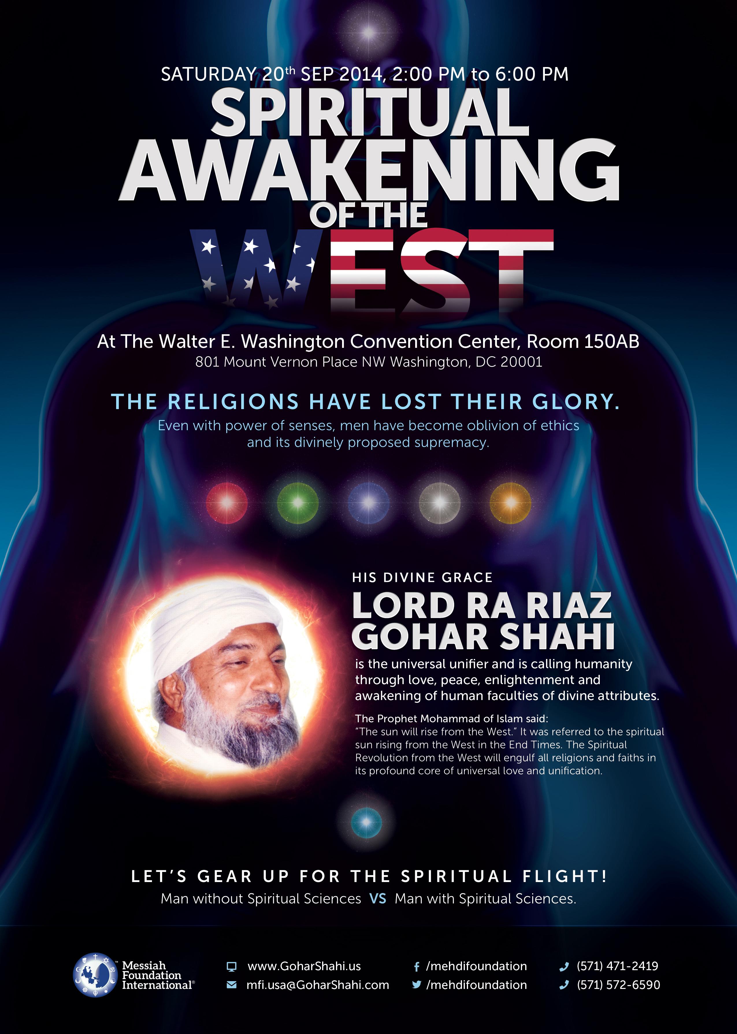 The Spiritual Awakening of the West Leaflet